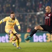 Soccer: Serie A, Frosinone-Milan