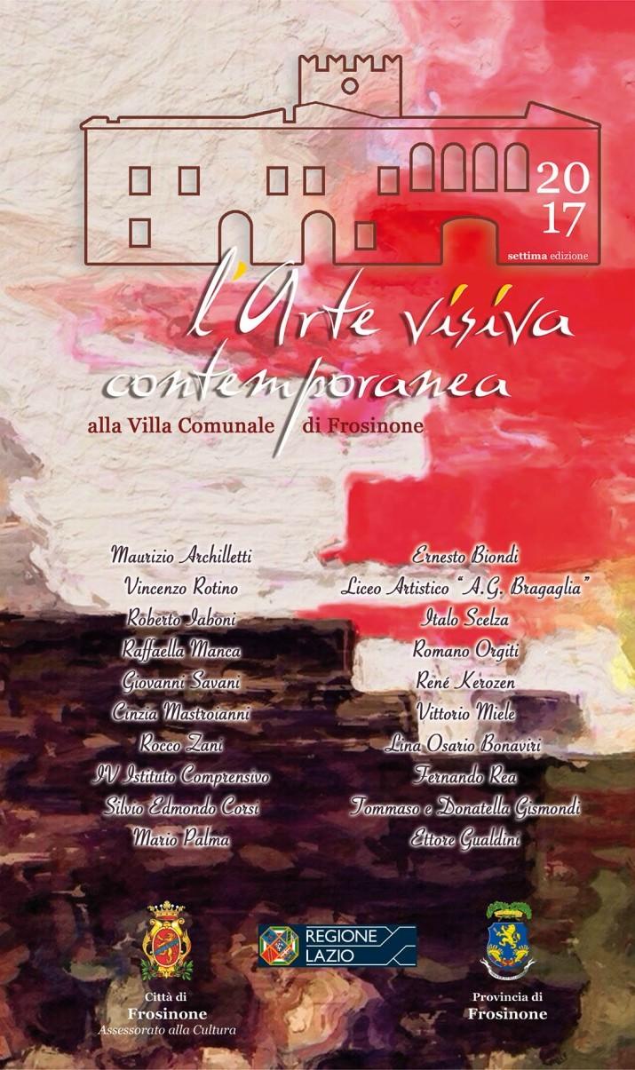Frosinone presentata la rassegna di arte visiva for Arte e arredo frosinone