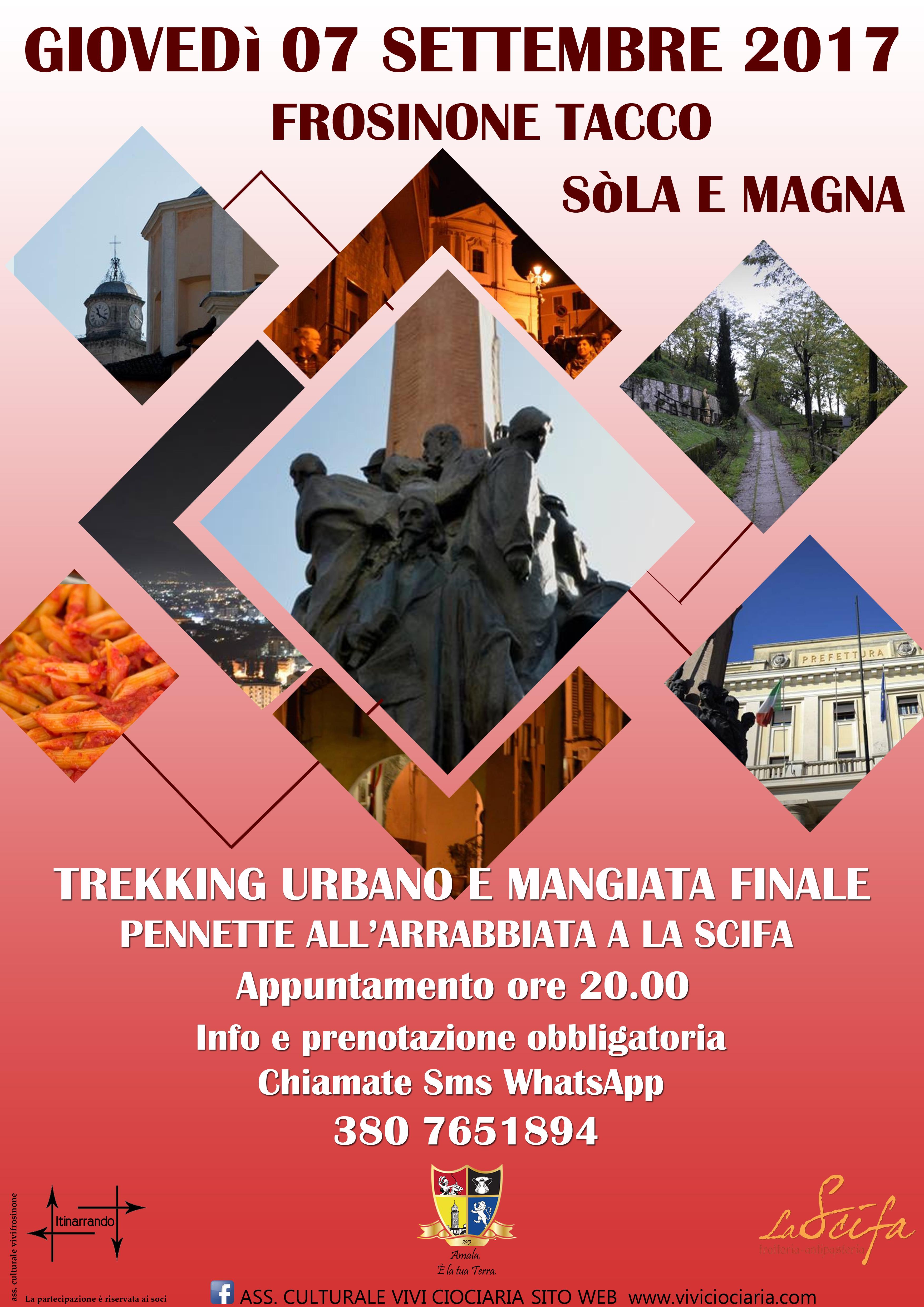 Frosinone tacco e s la il trekking urbano del capoluogo for Trento frosinone