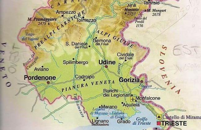 Lignano Cartina Geografica.Scuola Strafalcioni Geografici Sul Friuli In Un Testo Scolastico Delle Elementari Gente Comune